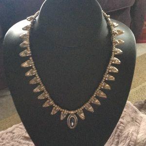 Beautiful Unode50 silver alloy choker w/pendant